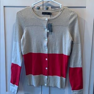 The limited button down cardigan sweater